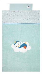Dreambee Drap pour lit Niyu allover menthe coton