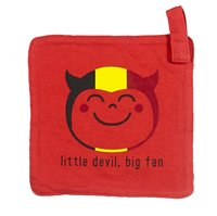 Wiplala Fopspeendoekje Little Devil Big Fan rood