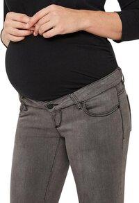 Mamalicious Pantalon Lola Slim gris-Détail de l'article
