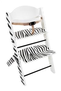 Treppy Chaise haute zebra