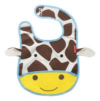 Skip*Hop Bavoir Zoo girafe avec fermeture velcro