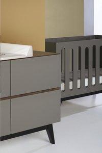 Quax Chambre 4 Elements Avec Armoire A 3 Portes Trendy Royal Oak