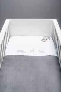 Jollein Laken voor bed Safari stone grey-Artikeldetail