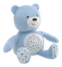 Chicco Peluche pour dormir Baby Bear First Dreams bleu-Avant