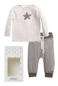 Noppies Coffret-cadeau blanc/gris