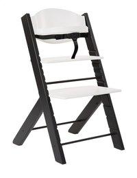Treppy Chaise haute noir/blanc