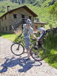 OK Baby Siège-vélo Eggy Relax noir/gris-Image 2
