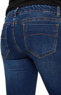 Mamalicious Pantalon Lola Slim bleu-Détail de l'article