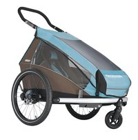 Croozer Regenhoes voor fietskar Kid (Plus) for 1