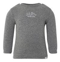 Noppies T-shirt met lange mouwen Puck anthracite melange