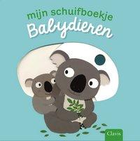 Livre pour bébé Mijn schuifboekje: Babydieren NL