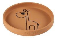 Done by Deer Assiette en silicone Raffi Mustard-Avant