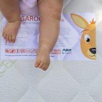 ABZ Matras voor babybed Kangoeroe B 60 x L 120 cm-Afbeelding 1