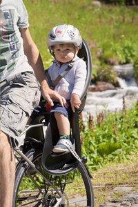 OK Baby Siège-vélo Eggy Relax noir/gris-Image 1