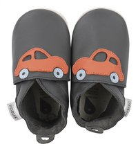 Bobux Chaussons Grey orange racing car gris/orange