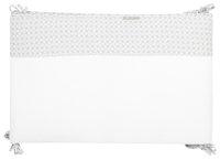 Timmy Tour de lit Soft Grey gris/blanc coton/polyester-Avant