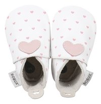 Bobux Schoentjes Soft sole White With Blossom Hearts Print maat 15