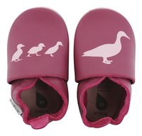 Bobux Chaussons Cerise duck print rose