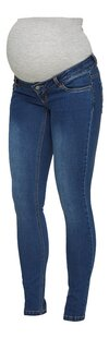 Mamalicious Pantalon Lola Slim bleu-Côté droit