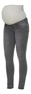 Mamalicious Pantalon Lola Slim gris-Côté droit
