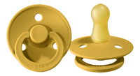 Bibs Sucette + 6 mois Mustard/Denim - 2 pièces-Détail de l'article