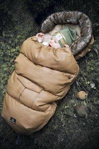 Elodie Details Chancelière pour poussette Chestnut Leather cognac-Image 1