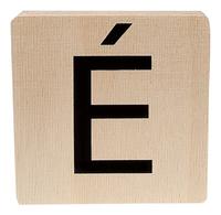 Minimou Houten letter É-Vooraanzicht