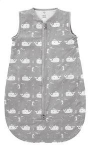 Fresk Sac de couchage d'été Whale Grey coton 70 cm