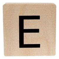 Minimou Houten letter E-Vooraanzicht