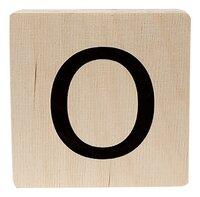 Minimou Houten letter O-Vooraanzicht