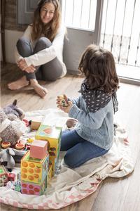 Play&Go Sac de rangement/couverture de jeu Diamond Pink-Image 2