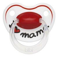 Bibi I love mama rouge/blanc