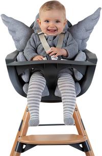 Childhome Verkleinkussen voor eetstoel Engel grijs-Afbeelding 2