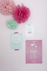 Little Dutch Poster et cartes pink - 3 pièces