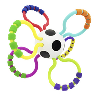 Sassy Rammelaar Grip & Rattle Ball