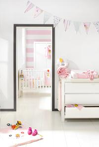 Chambre de bébé 3 pièces Loft avec armoire 2 portes-commercieel beeld