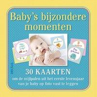 Baby's bijzondere momenten! néerlandais (Belgique)