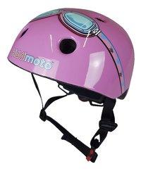 Kiddimoto Casque vélo pour enfant Pink Goggle 44 - 48 cm-commercieel beeld