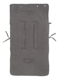 Jollein Chancelière pour siège-auto portable Bliss Knit Storm Grey-Arrière