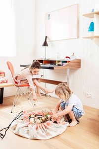 Play&Go Speeldeken/Opbergzak Soft regenboog-Afbeelding 3