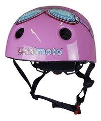 Kiddimoto Casque vélo pour enfant Pink Goggle 44 - 48 cm-Avant