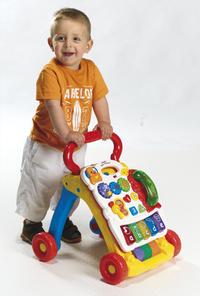 VTech loophulpje Baby Walker oranje -Afbeelding 1