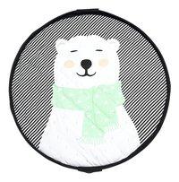 Play&Go Sac de rangement/couverture de jeu Soft ours polaire-Avant