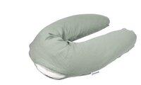 doomoo Housse pour coussin de positionnement et d'allaitement Comfy Big Green-Détail de l'article