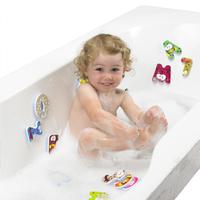DreamLand Jouet de bain Chiffres et lettres - 41 pièces -Image 1