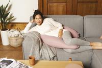 doomoo Borstvoedingskussen Comfy Big Tetra Pink-Afbeelding 1