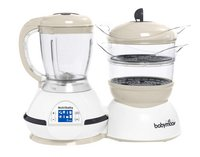 Babymoov Stoomkoker/mixer/flesverwarmer/sterilisator Nutribaby cream-Vooraanzicht