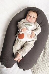 doomoo Coussin d'allaitement Comfy Big Tetra gris-Image 2