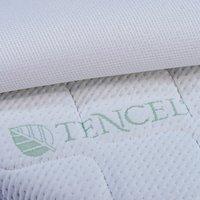 Airgosafe Matras voor babybed Witte Panter met oplegmatras B 60 x L 120 cm-Artikeldetail
