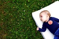 Airgosafe Matras voor babybed Witte Panter met oplegmatras B 60 x L 120 cm-Afbeelding 1